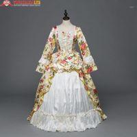 Thema Kostüm Urlaub Party Kleider Kleidung Renaissance Vintage Viktorianische Rokoko Kleid Mittelalterliche Kostüme1