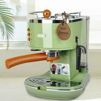 가정 등을위한 새로운 데론 ECO310 프레소 머신 홈 펌프 커피 머신은 반자동 커피 메이커