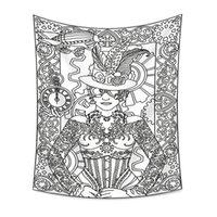 16 تصاميم نسيج Euramerican العرافة التنجيم الطباعة الجدار شنقا الديكور سماط اليوغا حصيرة منشفة الشاطئ حزب خلفية 177 G2