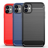 Soft TPU Carbon Fiber Case for iphone 6 6s 7 8 Plus X XS XR ...