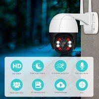 3MP PTZ cámara de WiFi del IP al aire libre 4X Noche zoom digital a todo color sin hilos H.265 P2P cámara de seguridad CCTV dos vías habla de audio