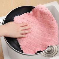 المطبخ مكافحة الشحوم المسح الخرق كفاءة سوبر ماص ستوكات التنظيف الوسادة المنزلية غسل الأطباق المطبخ تنظيف منشفة VT1882