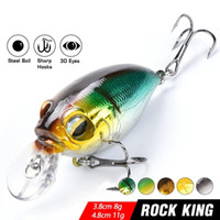 8g crankbait jerkbait nadar hard pesca iscas wobbler isca bass mini minnow manivela swimbait para perch pike mar powerbait isca