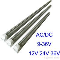 4피트 3피트 2피트 1피트 DC24V LED 튜브 18W T8 통합 저전압 DC12V LED 광 튜브 36V 쿨러 형광등 조명 주도