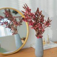 Dekoratif Çiçekler Çelenk 80g-90g /, Doğal Korunmuş Kelebek Buket, Düğün Ev Dekorasyon Masa Aksesuarları için Ebedi Yaprak Kuru