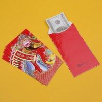 6 unids Año Nuevo Sobre rojo Chino Zodiaco Año Festival de primavera Paquete Red Packet Lucky Dinero Sobres Sobres Hong Bao