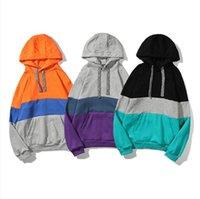 Модные Мужские толстовки с капюшоном Толстовка с капюшоном Женщины дизайнерские толстовки High Street Print Hoods Pullover Womens Sresh Annumn Foldshirts CZ6005