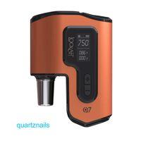 cire kit lookah stylo lookah vapeur Q7 avec Quartz plat Préchauffer Chambre Rigs dab 100% authentique pour la livraison gratuite