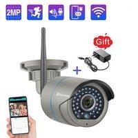 Mini Kameralar Techage 1080 P Kablosuz Kamera Ses Su Geçirmez Güvenlik WIFI CCTV Sistemi Kitleri IP Pro App Uzaktan Görünüm için