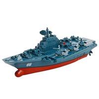 3319 2.4G Uzaktan Kumanda Tekne 4 Kanal Çift Motor Çalışması RC Gemi Micro Uzaktan Kumanda Boatradio Kontrollü Gemi