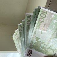 Realistische Toy247 Die meisten Banknoten-Familie-PROP-PROP US 100pcs / Packung oder / Euro / Dollar-Papierkopie Kinder Geld Bekbj
