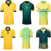 Best Quality 2019 2020 Australie Wallabies Jersey 19 20 Rugby Jerseys National Rugby League chemise Chemises Australien Wallabies Shirts S-3XL