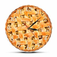 Delicious Homemade Apple Pie Acrylic Printed Wall Clock Swee...