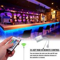 حار بيع البلاستيك 300-LED SMD3528 24W RGB IR44 ضوء الشريط مجموعة مع جهاز التحكم عن بعد IR (لوحة مصباح أبيض) إضاءة مرنة