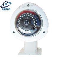 كاميرات مراقبة في الهواء الطلق CCTV 1080P قبة 1.7 ملليمتر 180 درجة عدسة vandalproof للرؤية الليلية الأمن للماء