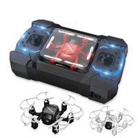 RCTown 126C RC Mini Fatto con fotocamera 2mp 4ch 6axis Droni con fotocamera HD RC Elicottero Mini Modalità Headless Quadcopter # X0727
