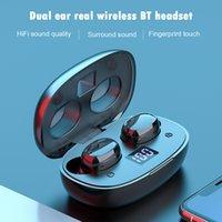 F9 A9 V8 F9-8 X36 BTH-275 TWS Wireless Ohrhörer Bluetooth 5.0 TWS Bluetooth Headsets Ohrhörer mit LED-Anzeigen Wasserdichte Ladekasten