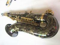 Tenor Saksafon Yeni Yanagizawa Yüksek Kalite B Düz Tenor Sax Profesyonelce Paragraf Müzik Siyah Nikel Altın Saksafon ve Kılıf