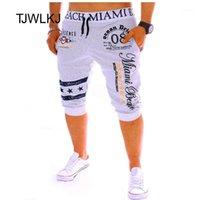 Pantalones para hombres Tjwlkj Hip Hop Joggers Casual Joggers Sweetwear Streetwear Algodón Pantalones Pantalones Pantalones Leggings de carga Calf-Longitud1