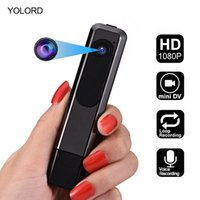 Цифровой голосовой рекордер Full HD 1080P Мини-камера Cam Видео Smart Recording Audio Stereo Pen USB U Дисковой воротник Клип 8 ГБ / 32 ГБ / 64 ГБ