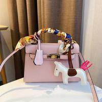 أفضل مصممين بيع أحدث حقيبة يد المرأة حقيبة يد جلد طبيعي الأزياء حقائب الكتف للمرأة
