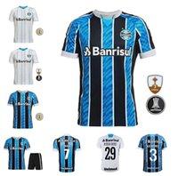 2021 Neues Gremio Football Hemd KANNEMANN GEL Custom Everton Pepe Football Hemd Camisa Gremio Femino Erwachsene + Kinderset
