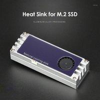Охладитель радиатора W / Turbo вентилятор бытовой компьютер цифровой температурный дисплей аксессуары для 2280 22110 м.2 SSD1