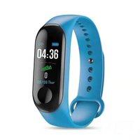 Bracelet étanche Smart Smart Smart, pression artérielle, surveillance de la santé du sommeil, podomètre d'exercice et écran couleur kilométrique