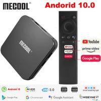 MECOOL KM9 PRO Android TV Box 10.0 Amlogic S905X2 2G 16G 4K certifié Google Android 9 ATV Smart TV Box commande vocale