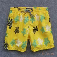 Mens Summer Swim Swim Breilebrequin Bermuda Beach Abbigliamento Tartarughe Novità Summer Casual Shorts Uomo Stile Moda stile Pantaloncini da uomo