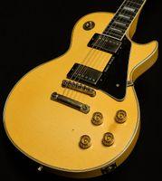 مخصص متجر الثقيلة Randy Rhoads 1974 العتيقة الأبيض كريم الغيتار الكهربائي ABR-1 جسر، 1 قطعة الرقبة الصغيرة D، الأبنوس فريت