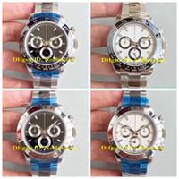 17 stil Herren Chronograph Keramik Lünette 40mm 116520 116519 116500ln 116500 Automatische Swiss ETA 7750 Automatische Männer Uhrenuhr