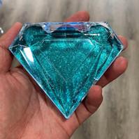 الماس الرموش الكاذبة تغليف صندوق همية 3D المنك الرموش صناديق فو شيلس المغناطيسي جلدة حالة إفراغ التوصيل مجاني