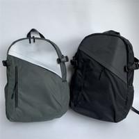 Сумки Trend 3M Светоотражающие Сращивание Рюкзак Тенденции Мода Backpacsks Женская сумка Мужская досуг Открытый