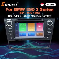 Jugador Eunavi 1 DIN 7 pulgadas Android 10 DVD para E90 / E91 / E92 / E93 3 Series Multimedia Video Multimedia Video Estéreo GPS 1DIN Radio