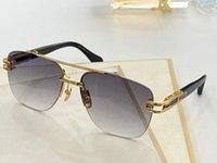 Grand One New Fashion Gafas de sol Hombres Classic Metal Gafas de sol Retro Gafas de sol de moda estilo cuadrado medio marco marco UV 400 gafas Envíe la caja