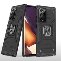 Tough Armor case 360 Degree Rotating Metal Ring Holder Kickstand Shockproof Cover for Samsung Galaxy Note 20 Ultra S20 S10 Plus S10E S8 S9