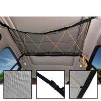 En Taşıtlar için İpli Sundries Depolama Bag'le Araç Tavan Depolama Net Cep Universal Araç Çatı İç Kargo Net Çanta
