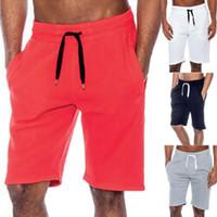 2021 Neueste Ankunft Herren Sommer Casual Tech Fleece Shorts Gym Backgy Sport Jogger Sweat Beach Hosen M-2XL1