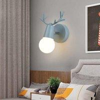 Lampada da parete Nordic Designer Soggiorno Lampade da soggiorno 220V E27 Allers Lights for Led Bedroom Decoration Holtel Corridoio 8 colori