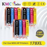 Cartuccia d'inchiostro compatibile per KMCyinks per 178 per 178 178xl Photosmart 5510 5515 6510 7510 B109A B109N B110A Cartridges della stampante1