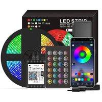 WiFi LED قطاع Lightswatroaterproof Alexa و Google معتمد، أضواء قطاع LED في الهواء الطلق، ومزامنة صوت الموسيقى لحفلات السباحة
