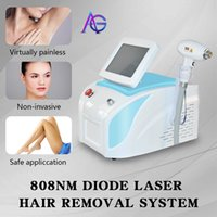 New 808 diode laser body hair removal machine skin rejuvenation fast hair removal for all skin colors 20millions shots free shipping