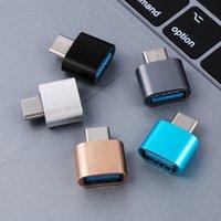 USB-C 3.1 Tipo C a USB 3.0 OTG Metallo Convertitore colorato maschio a femmina adattatore per smartphone Android