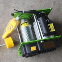 Outils de levage Accessoires de 1000kg 100M Hauteur de corde de fil micro treuil électrique avec interrupteur de poignée
