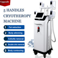 2021 Factory price 5 Cryolipolysis Handles Fat loss body con...