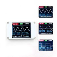 DSO188 portátil mini bolsillo portátil ultra-pequeño ancho de banda del osciloscopio digital 1M 5M frecuencia de muestreo del osciloscopio digital Kit