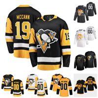 Custom Pittsburgh Penguins Dominik Simon Jared McCann John Marino Justin Schultz Juuso Riikola Marcus Pettersson 2020 Hockey Jersey Stitched