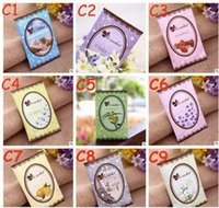 Natürliche Multifunktions Lufterfrischer Sachet Für Homes Auto Mini Scent Tasche Verschiedene Düfte Taschen Rose Lemon Violet 7789