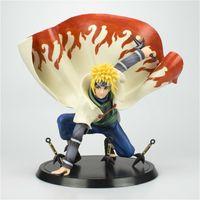Nouveau Anime Naruto Figure Namikaze Minato Action Figurines Naruto Shippuden Figurine Collection Décoration PVC Modèle Jouets Toys Poupée Poupée Y0112